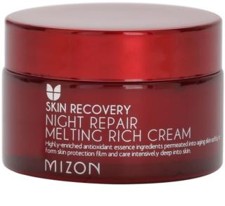 Mizon Skin Recovery éjszakai fiatalító krém az élénk bőrért
