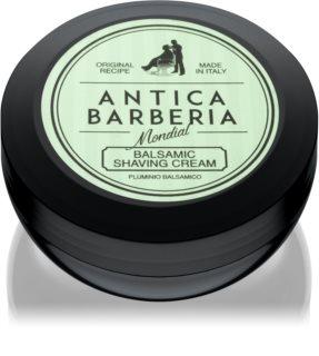 Mondial Antica Barberia Pluminio Balsamico crema de afeitar