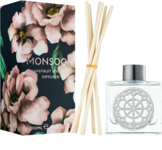 Monsoon Grapefruit & Vetivert difusor de aromas con esencia 200 ml