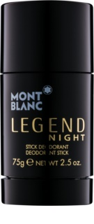 Montblanc Legend Night deostick pentru barbati 75 g