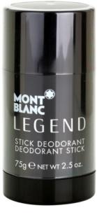 Montblanc Legend desodorizante em stick para homens 75 g