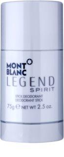Montblanc Legend Spirit desodorizante em stick para homens 75 g