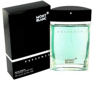 Montblanc Presence Eau de Toilette für Herren 75 ml