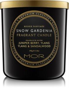 MOR Snow Gardenia Duftkerze  390 g