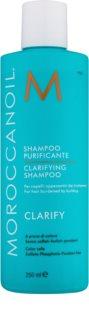 Moroccanoil Clarify szampon dogłębnie oczyszczający do włosów słabych i zniszczonych