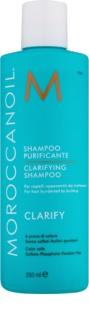 Moroccanoil Clarify tiefenreinigendes Shampoo für strapaziertes und beschädigtes Haar