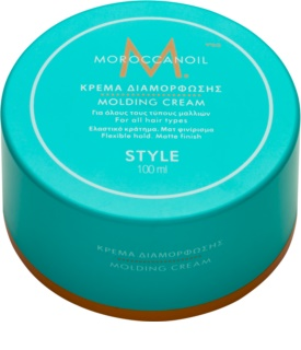 Moroccanoil Style Modeling Cream for a Matte Look