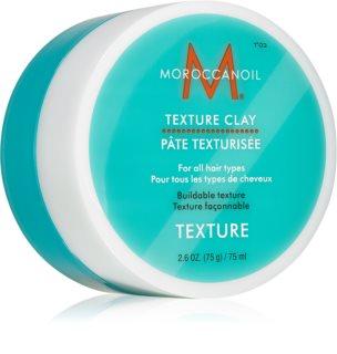 Moroccanoil Texture моделююча м'ятна глина для волосся для фіксації та надання форми