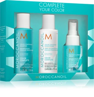 Moroccanoil Color Complete lote cosmético para cabello teñido
