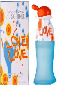 Moschino I Love Love Eau de Toilette für Damen 50 ml