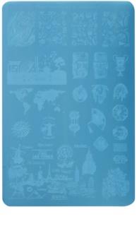 Moyra Nail Art Globetrotter Stamp Pad For Nails