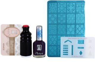 Moyra Nail Art Nail Stamping kosmetická sada VII.