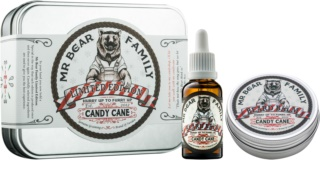 Mr Bear Family Candy Cane Cosmetic Set I.