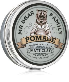 Mr Bear Family Matt Clay pomata per capelli effetto matte