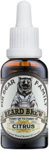 Mr Bear Family Citrus huile pour barbe