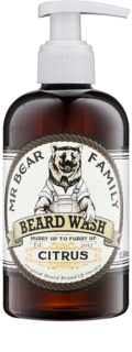 Mr Bear Family Citrus shampoo per barba