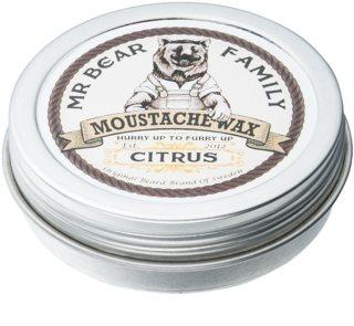 Mr Bear Family Citrus віск для вусів