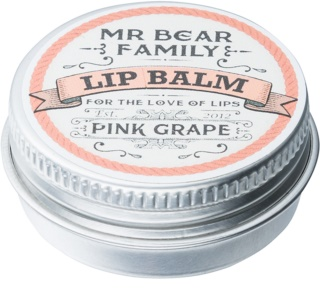 Mr Bear Family Pink Grape Lippenbalsem voor Mannen