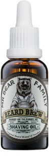 Mr Bear Family Skincare olej na holení pro muže