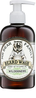 Mr Bear Family Wilderness champô para a barba