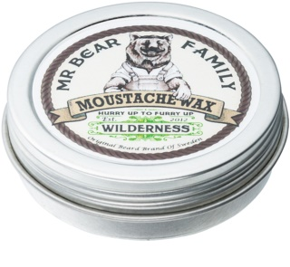 Mr Bear Family Wilderness cire pour moustache