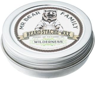 Mr Bear Family Wilderness ceară pentru barbă