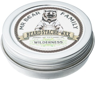 Mr Bear Family Wilderness cire pour barbe