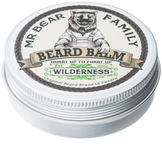 Mr Bear Family Wilderness balsamo per barba