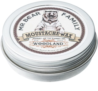 Mr Bear Family Woodland Moustache Wax
