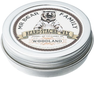 Mr Bear Family Woodland cire pour barbe