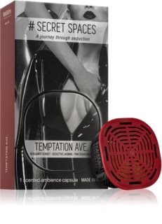 Mr & Mrs Fragrance Secret Spaces Temptation Ave. recharge pour diffuseur d'huiles essentielles capsules