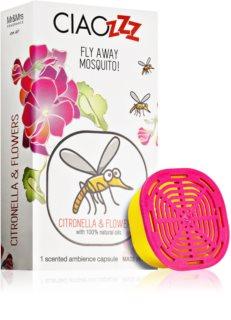Mr & Mrs Fragrance Ciaozzz Citronella & Flowers recharge pour diffuseur d'huiles essentielles   capsules (Mosquito Repellent)