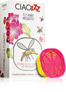 Mr & Mrs Fragrance Ciaozzz Citronella & Flowers recarga para difusor de aromas cápsulas (Mosquito Repellent)