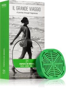 Mr & Mrs Fragrance Il Grande Viaggio Papaya do Brasil recharge pour diffuseur d'huiles essentielles capsules