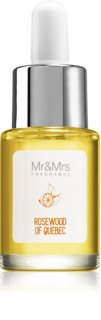Mr & Mrs Fragrance Blanc Rosewood of Quebec óleo aromático 15 ml