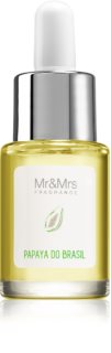 Mr & Mrs Fragrance Blanc Papaya do Brasil óleo aromático 15 ml