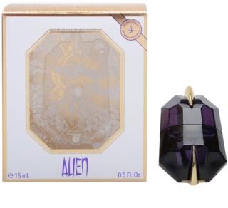 Mugler Alien eau de parfum pentru femei 15 ml reincarcabil