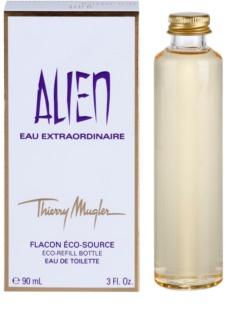 Mugler Alien Eau Extraordinaire Eau de Toilette para mulheres 90 ml recarga