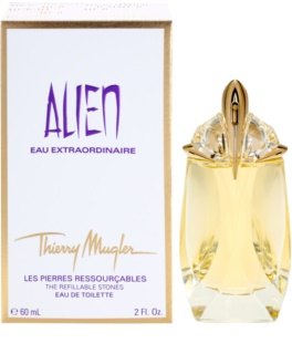 Mugler Alien Eau Extraordinaire Eau de Toilette para mulheres 60 ml recarregável
