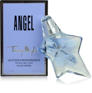 Mugler Angel eau de parfum pentru femei 15 ml reincarcabil
