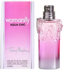 Mugler Womanity Aqua Chic 2013 Edition Eau de Toilette für Damen