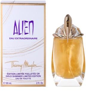 Mugler Alien Eau Extraordinaire Gold Shimmer Limited Edition Eau de Toilette voor Vrouwen  60 ml