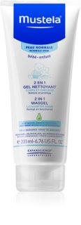 Mustela Bébé Washing Gel for Body and Hair for Kids
