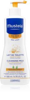 Mustela Bébé Toillete leite de limpeza para crianças