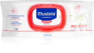 Mustela Bébé Soothing Cleansing Wipes for Kids