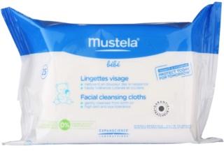 Mustela Bébé Toillete lingettes nettoyantes visage