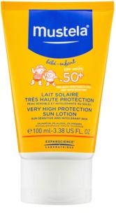 Mustela Solaires lait solaire SPF 50+