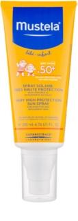 Mustela Solaires schützendes Spray für Kinder SPF 50+