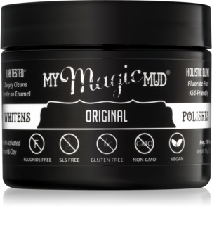 My Magic Mud Activated Charcoal pó dental branqueador com carvão ativo
