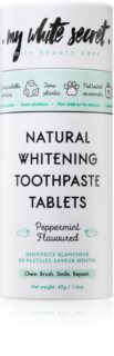 My White Secret Toothpaste Tablets Toothpaste